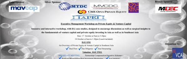 IAPEI EXECUTIVE WORKSHOP ON VENTURE CAPITAL & PRIVATE EQUITY