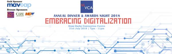 MVCA Annual Dinner & Awards Night 2018