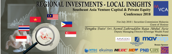 SOUTHEAST ASIA VENTURE CAPITAL & PRIVATE EQUITY CONFERENCE 2018 (SEAVCPE 2018)