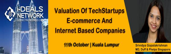 Valuation Of Techstartups,ECommerce And Internet Companies