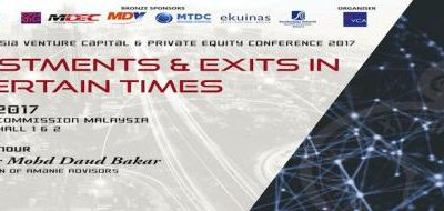 SOUTHEAST ASIA VENTURE CAPITAL & PRIVATE EQUITY CONFERENCE 2017 (SEAVCPE 2017)