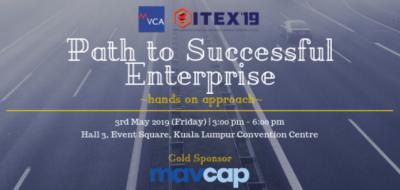MVCA: VC2E – ITEX 2019 Path To Successful Enterprise