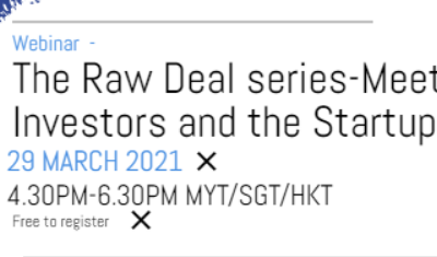 The Raw Deal series-Meet the Investors and the Startup