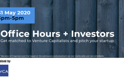 MVCA Workshop 31 May 2021 : Office hours with Investors
